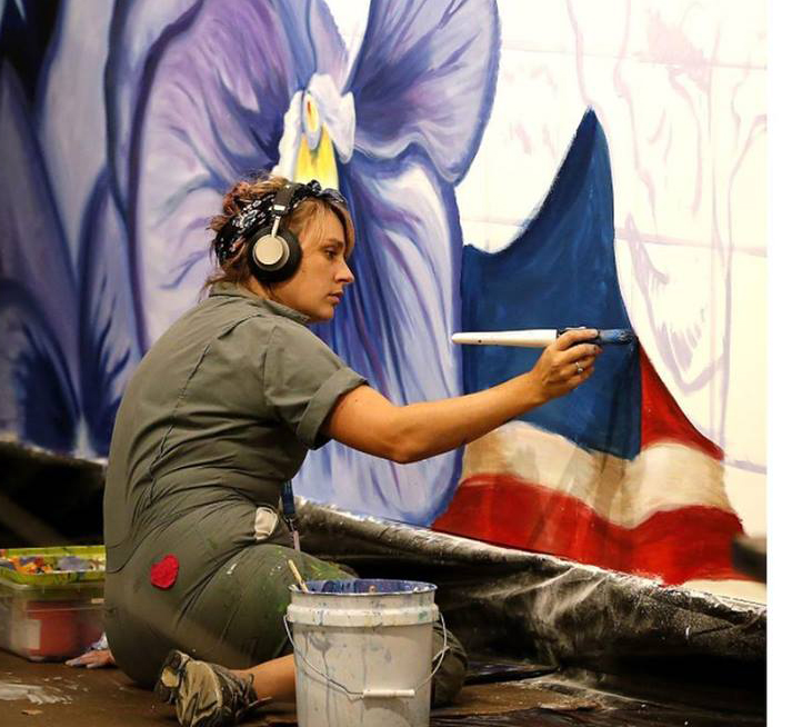 Resilience: a live mural painting exhibit - BOJUart